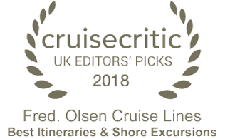 cruisecritic UK editor's picks 2018 - Best Itineraries & Shore Excursions